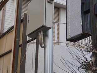 倉敷市の町内会のご依頼による防犯カメラの設置