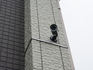 住宅への防犯カメラ設置事例